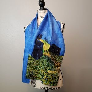 Accessories - Van Gogh Cafe Terrace at Night Silky Scarf